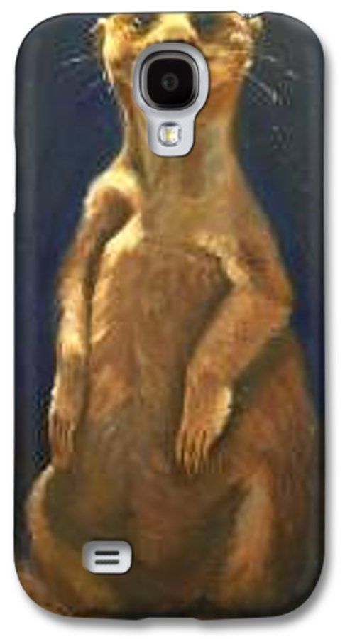 For Availability And Prices Of Limited Edition Prints/giclees Galaxy S4 Case featuring the painting I See You by Greg Neal