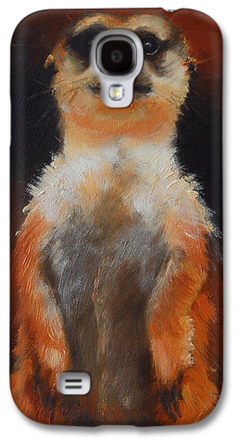 Oil Galaxy S4 Case featuring the painting I See You Too by Greg Neal