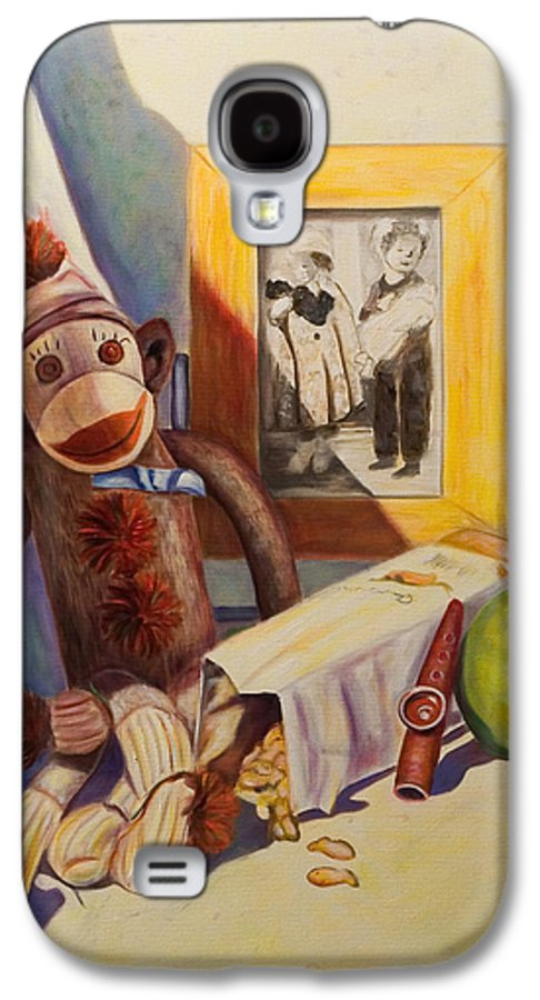 Children Galaxy S4 Case featuring the painting I Will Remember You by Shannon Grissom