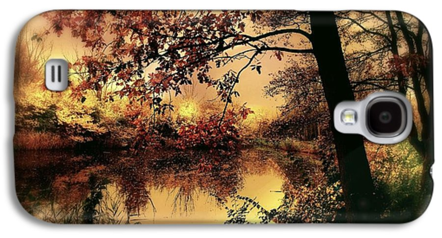 Autumn Galaxy S4 Case featuring the photograph In Dreams by Jacky Gerritsen