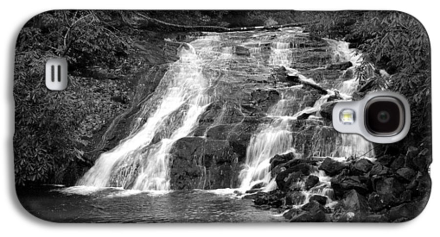 Nature Galaxy S4 Case featuring the photograph Indian Falls At Deep Creek by Kathy Schumann