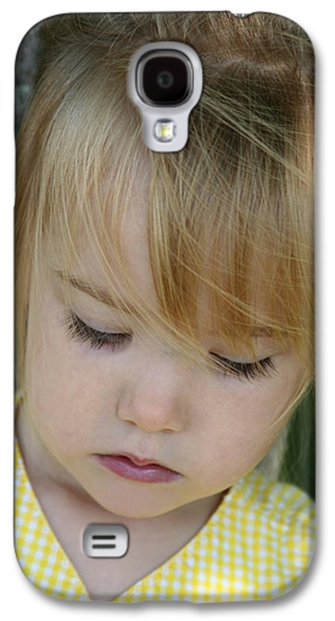 Angelic Galaxy S4 Case featuring the photograph Innocence II by Margie Wildblood