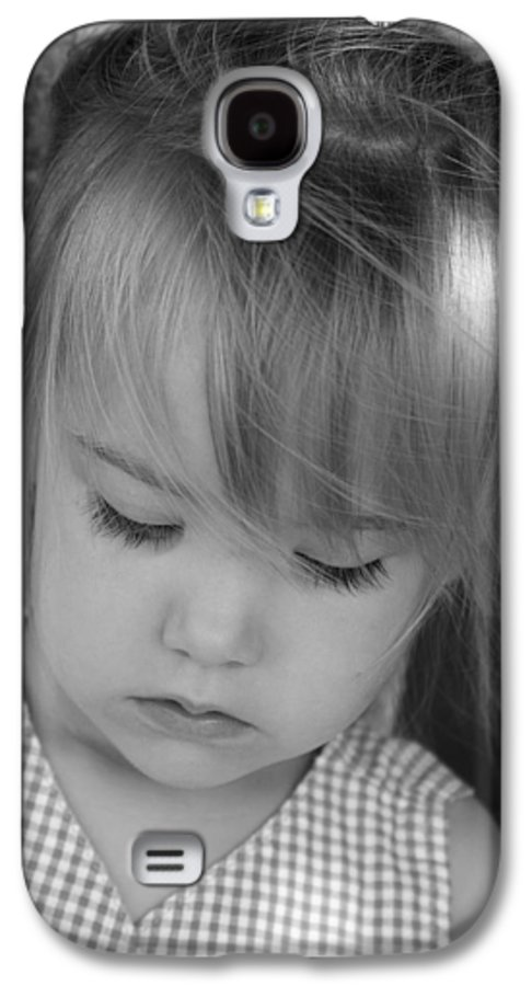Angelic Galaxy S4 Case featuring the photograph Innocence by Margie Wildblood