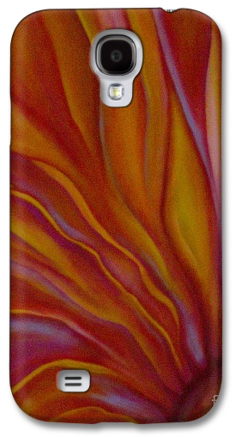 Floral Galaxy S4 Case featuring the painting Internal Floral by Sidra Myers
