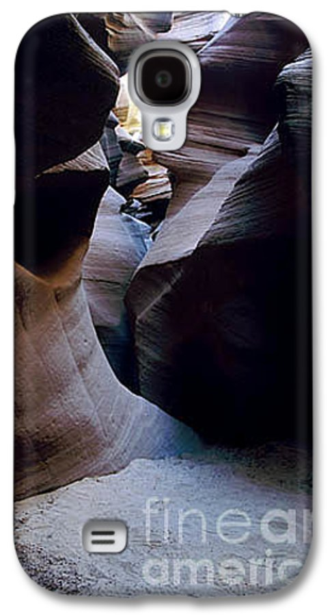 Slot Canyons Galaxy S4 Case featuring the photograph Into The Depths by Kathy McClure