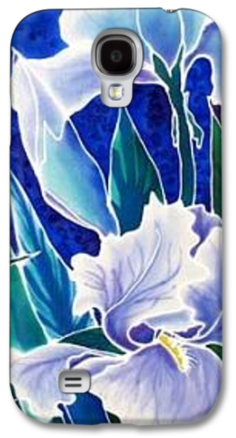 Iris Galaxy S4 Case featuring the painting Iris by Francine Dufour Jones