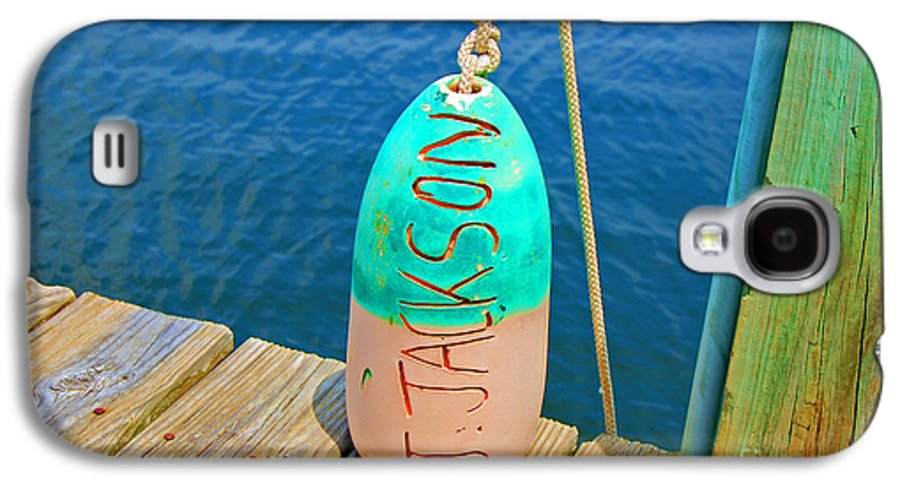 Water Galaxy S4 Case featuring the photograph Its A Buoy by Debbi Granruth