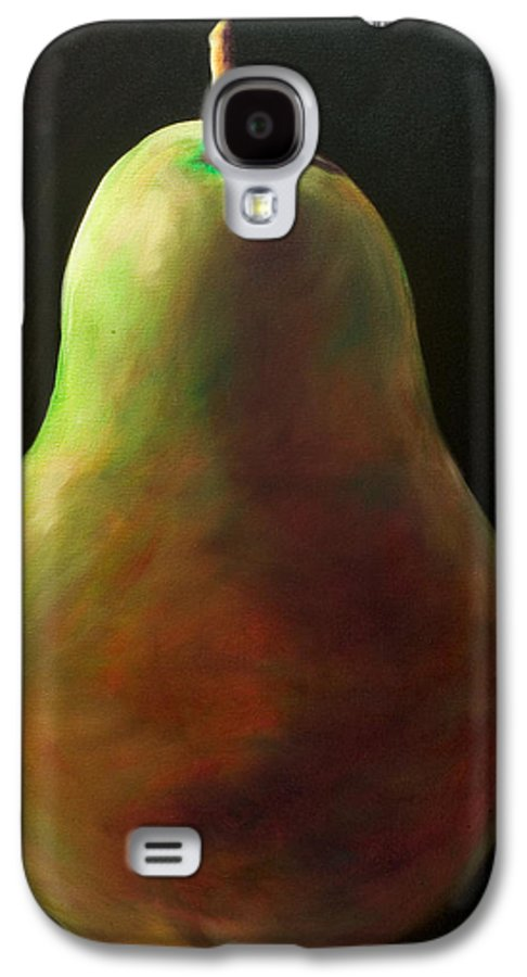 Pear Galaxy S4 Case featuring the painting Jan by Shannon Grissom