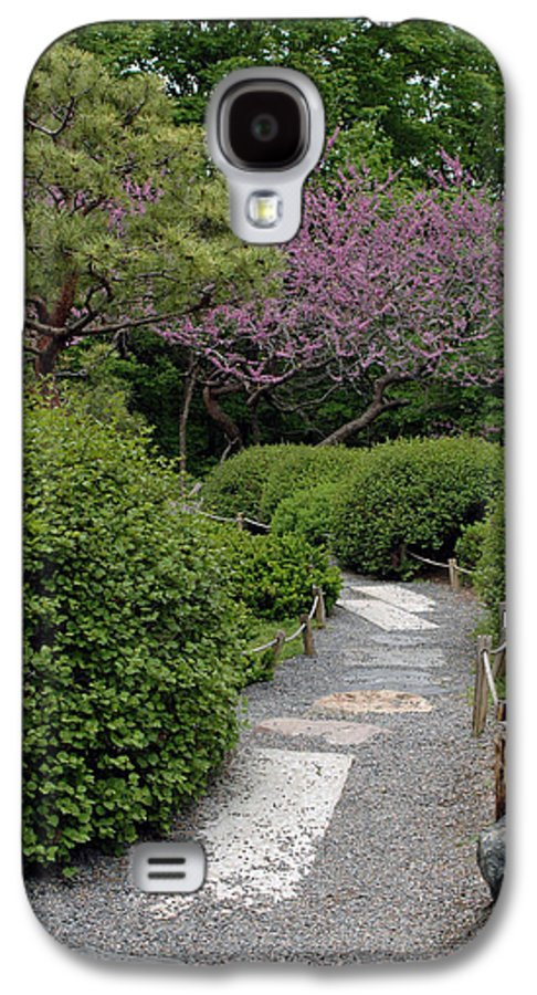 Japanese Garden Galaxy S4 Case featuring the photograph Japanese Garden I by Kathy Schumann