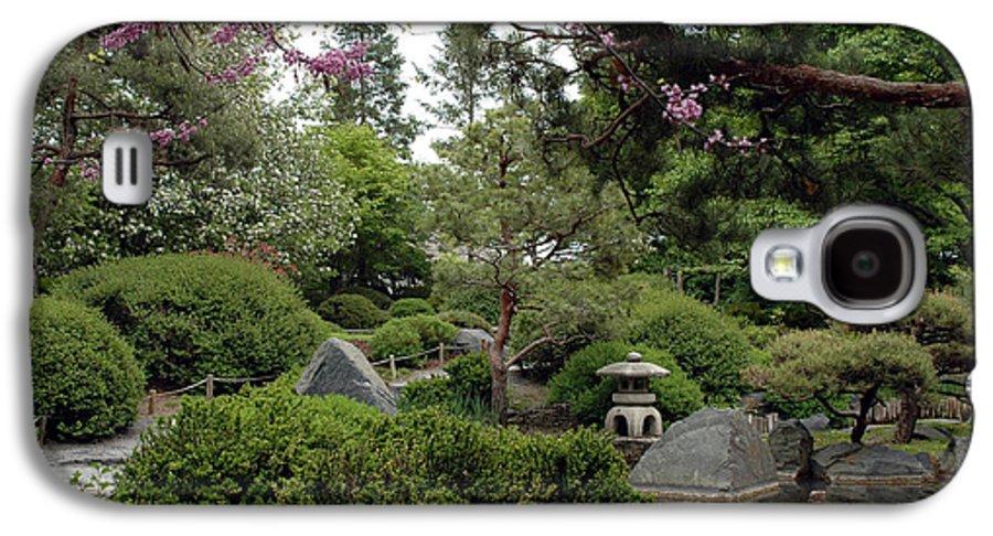 Japanese Garden Galaxy S4 Case featuring the photograph Japanese Garden IIi by Kathy Schumann