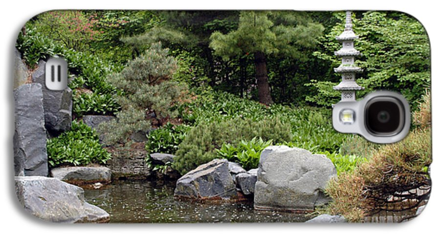 Japanese Garden Galaxy S4 Case featuring the photograph Japanese Garden Iv by Kathy Schumann