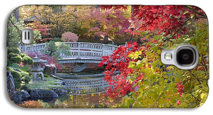 Gardens Galaxy S4 Case featuring the photograph Japanese Gardens by Idaho Scenic Images Linda Lantzy