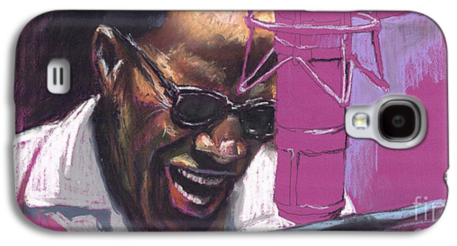 Jazz Galaxy S4 Case featuring the painting Jazz Ray by Yuriy Shevchuk