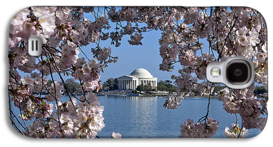 Washington D.c. Galaxy S4 Case featuring the photograph Jefferson Memorial On The Tidal Basin Ds051 by Gerry Gantt