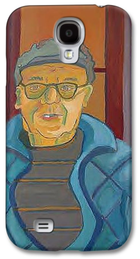 Portrait Galaxy S4 Case featuring the painting John Paris by Debra Bretton Robinson