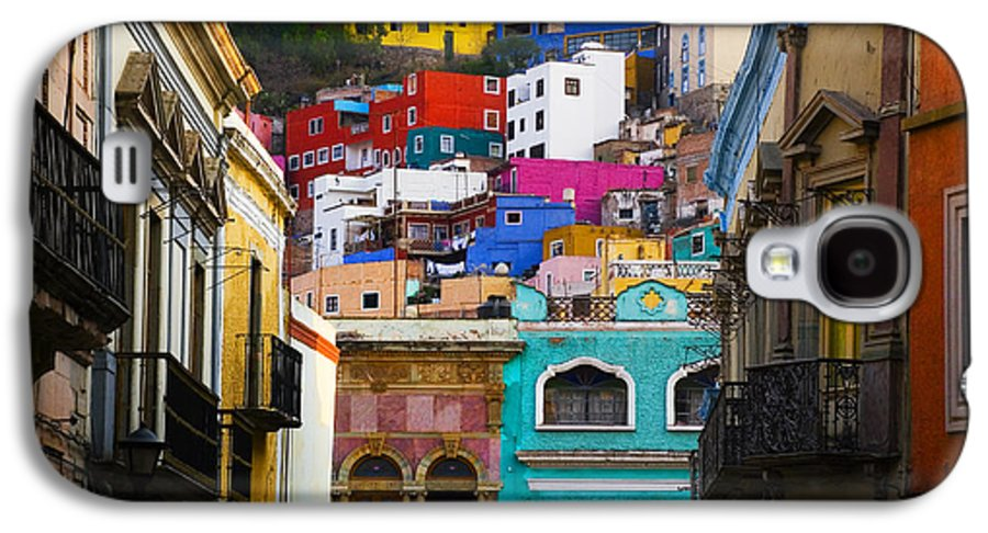 Architecture Galaxy S4 Case featuring the photograph Juegos In Guanajuato by Skip Hunt
