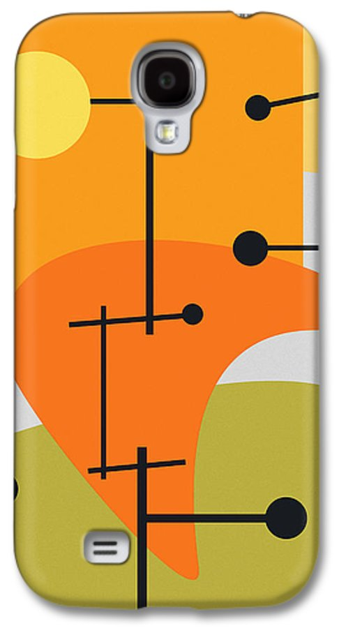 Abstract Galaxy S4 Case featuring the digital art Juxtaposing Thoughts by Richard Rizzo