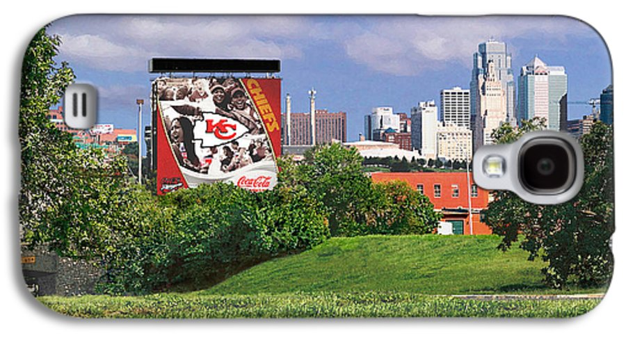 Landscape Galaxy S4 Case featuring the photograph Kansas City Sky Line by Steve Karol
