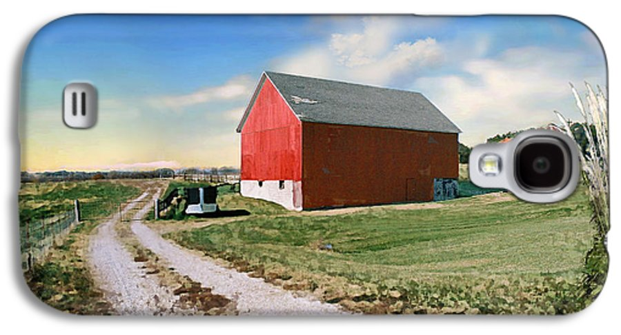 Barn Galaxy S4 Case featuring the photograph Kansas Landscape II by Steve Karol