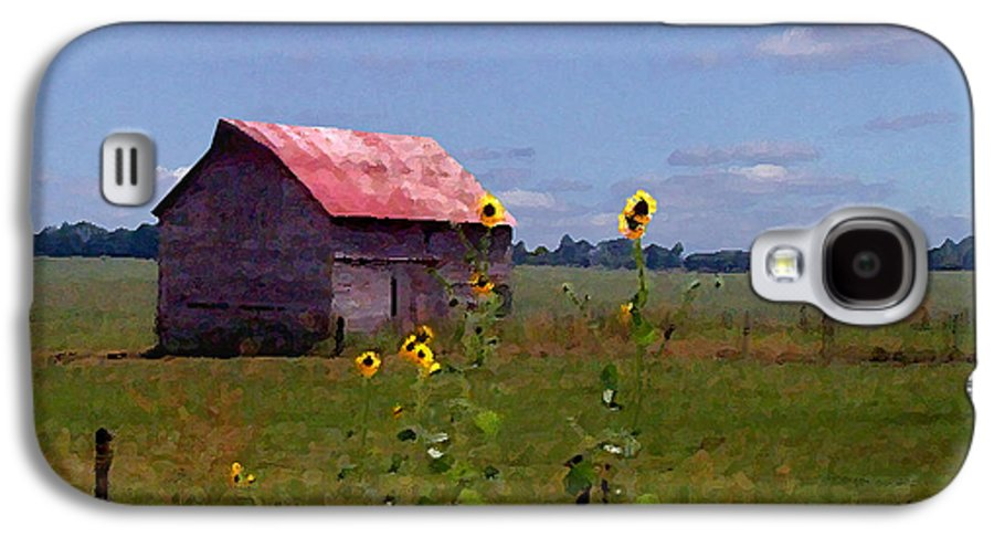 Landscape Galaxy S4 Case featuring the photograph Kansas Landscape by Steve Karol