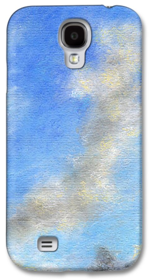 Coastal Decor Galaxy S4 Case featuring the painting Kauapea Evening by Kenneth Grzesik