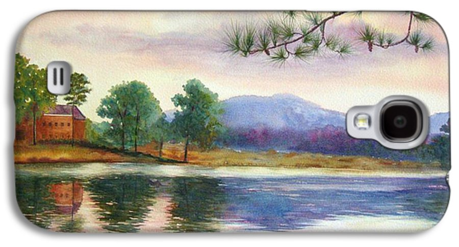 Marietta Galaxy S4 Case featuring the painting Kennesaw Mt. by Ann Cockerill