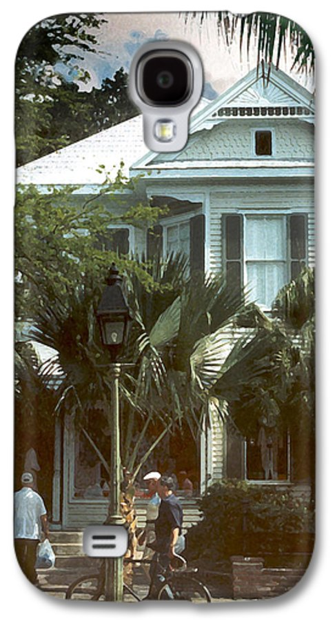 Historic Galaxy S4 Case featuring the photograph Keywest by Steve Karol
