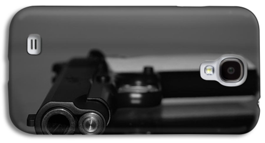 45 Auto Galaxy S4 Case featuring the photograph Kimber 45 by Rob Hans