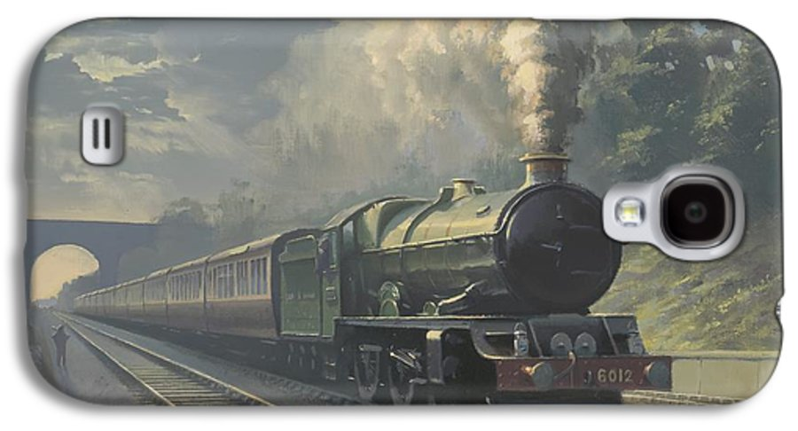 Steam Galaxy S4 Case featuring the painting King Edward Vi by Richard Picton