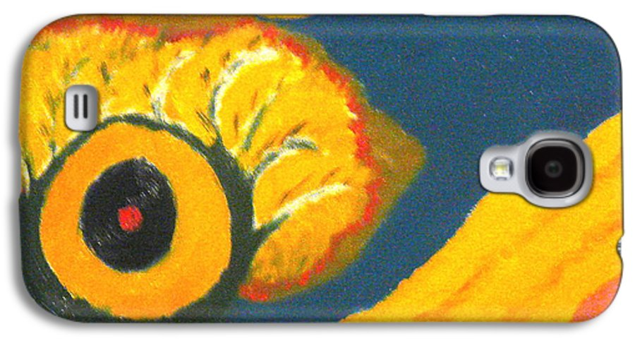 Galaxy S4 Case featuring the painting Krshna by R B