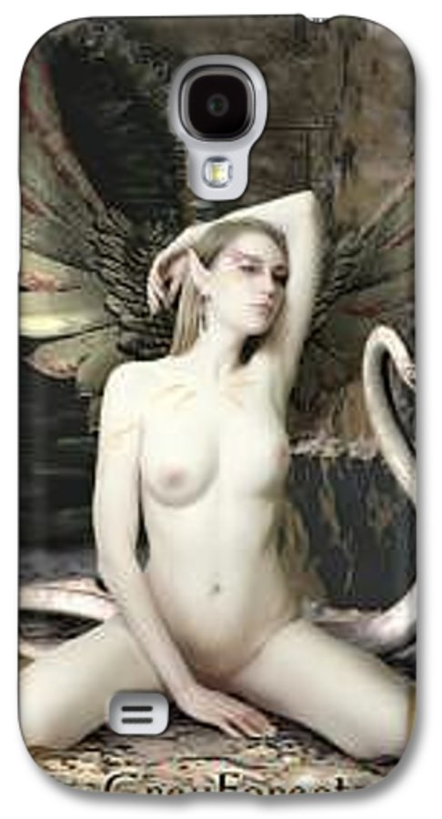 Fairy Galaxy S4 Case featuring the painting Labyrinth by Michel Savage