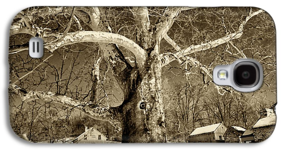 Sycamore Tree Galaxy S4 Case featuring the photograph Lafayette Headquarters by Jack Paolini