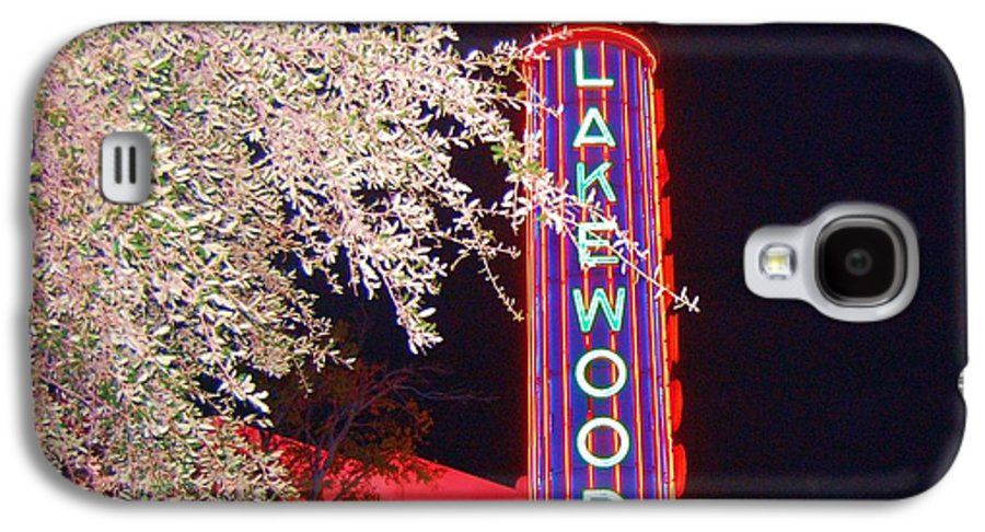 Theater Galaxy S4 Case featuring the photograph Lakewood Theater by Debbi Granruth