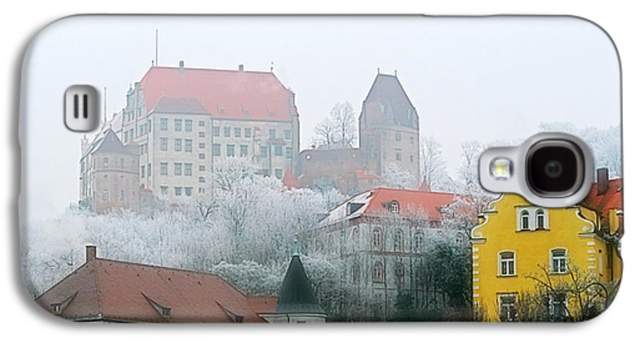 City Galaxy S4 Case featuring the photograph Landshut Bavaria On A Foggy Day by Christine Till