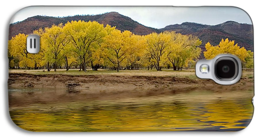 River Galaxy S4 Case featuring the photograph Las Animas Fall by Jerry McElroy