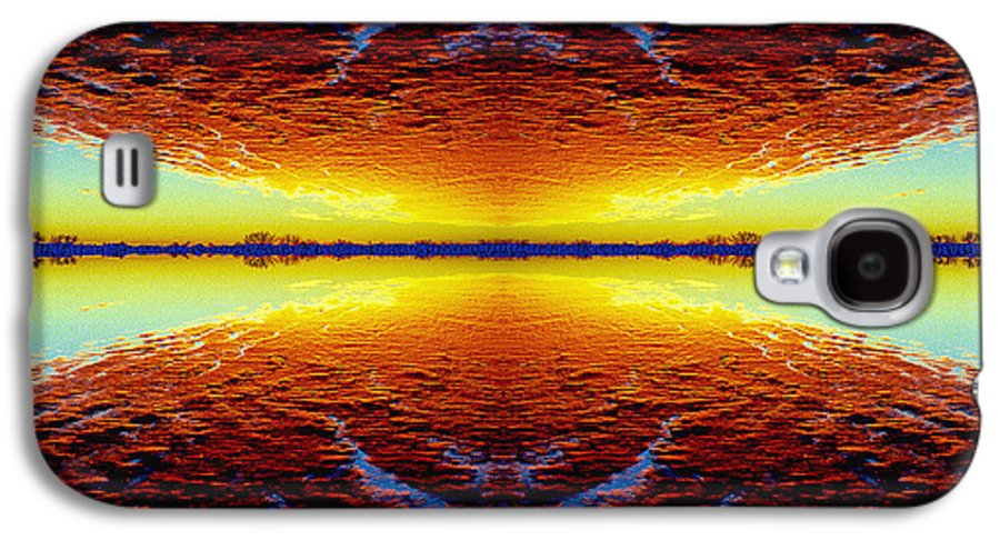 Sunset Galaxy S4 Case featuring the photograph Last Sunset by Nancy Mueller