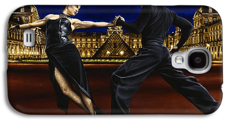 Tango Galaxy S4 Case featuring the painting Last Tango In Paris by Richard Young