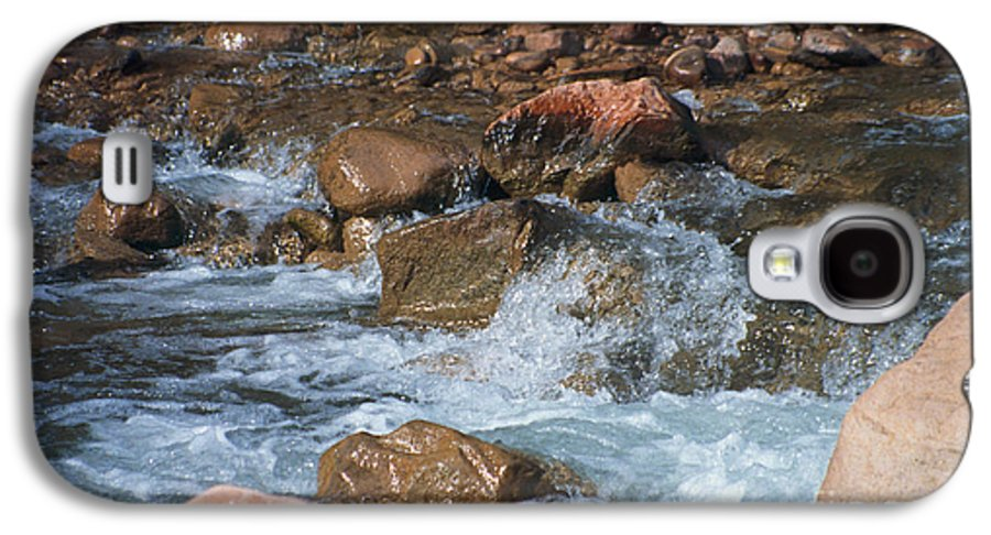 Creek Galaxy S4 Case featuring the photograph Laughing Water by Kathy McClure