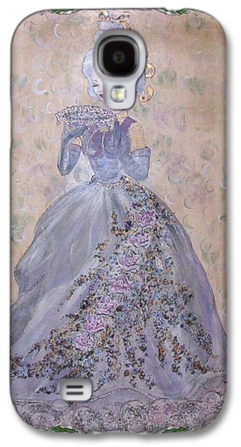 Still Life Galaxy S4 Case featuring the painting Lavender Lady by Phyllis Mae Richardson Fisher