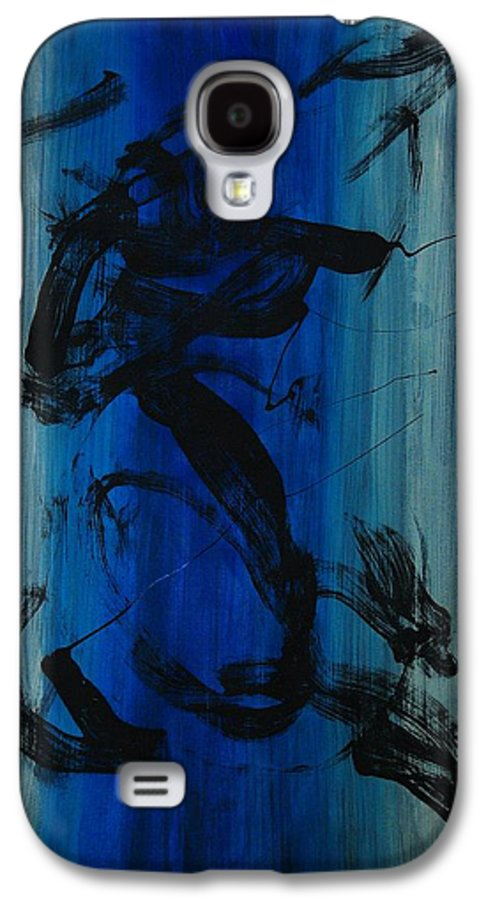 Acrylic Galaxy S4 Case featuring the painting Leap Of Love by Lauren Luna