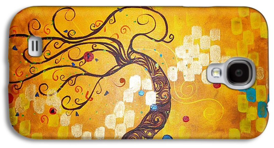 Galaxy S4 Case featuring the painting Life Is A Ball by Stefan Duncan