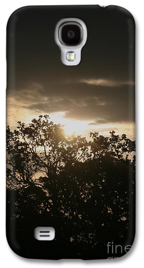 Light Galaxy S4 Case featuring the photograph Light Chasing Away The Darkness by Nadine Rippelmeyer