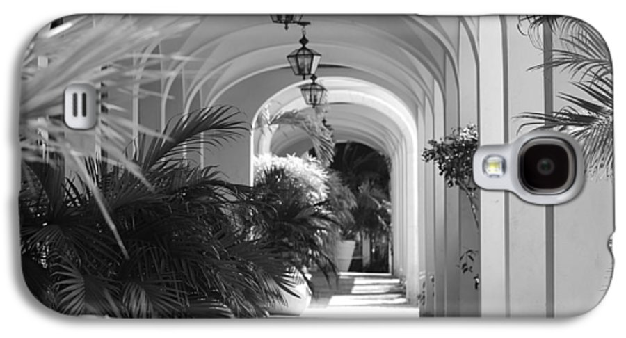 Architecture Galaxy S4 Case featuring the photograph Lighted Arches by Rob Hans