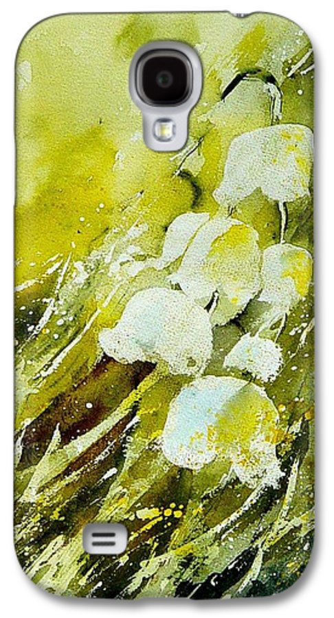 Flowers Galaxy S4 Case featuring the painting Lilly Of The Valley by Pol Ledent