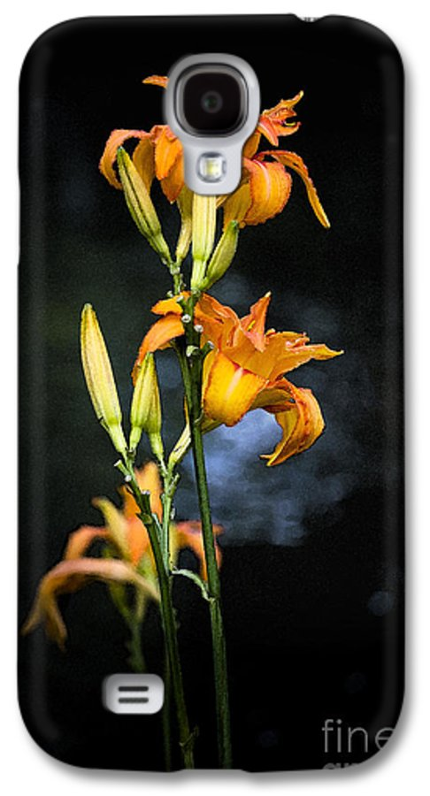 Lily Monet Garden Flora Galaxy S4 Case featuring the photograph Lily In Monets Garden by Sheila Smart Fine Art Photography