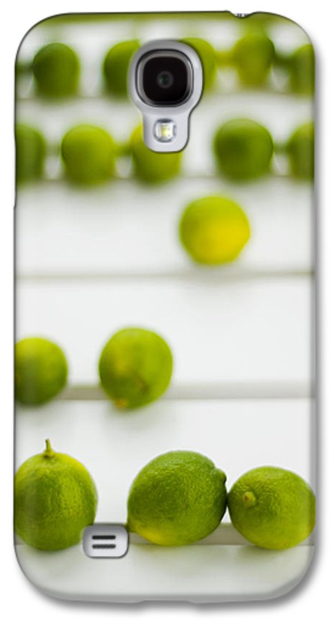 Green Galaxy S4 Case featuring the photograph Lime Green by Skip Hunt