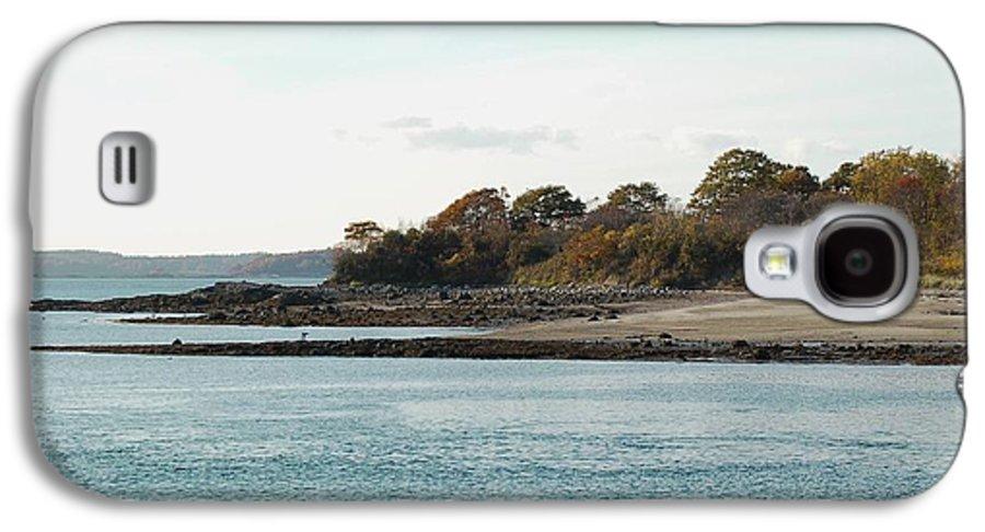 Island Galaxy S4 Case featuring the photograph Little Chebeague Beach by Faith Harron Boudreau