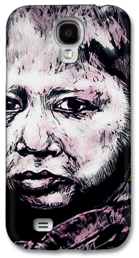 Galaxy S4 Case featuring the mixed media Little Rosita by Chester Elmore