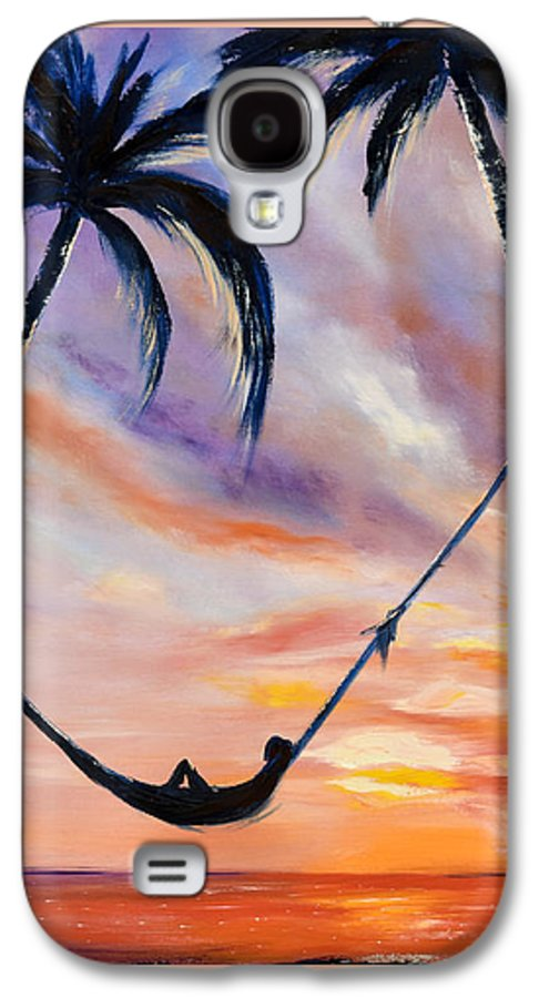Sunset Galaxy S4 Case featuring the painting Living The Dream by Gina De Gorna