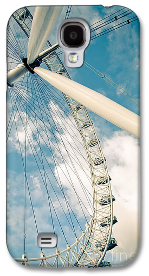 London Eye Galaxy S4 Case featuring the photograph London Eye Ferris Wheel by Andy Smy